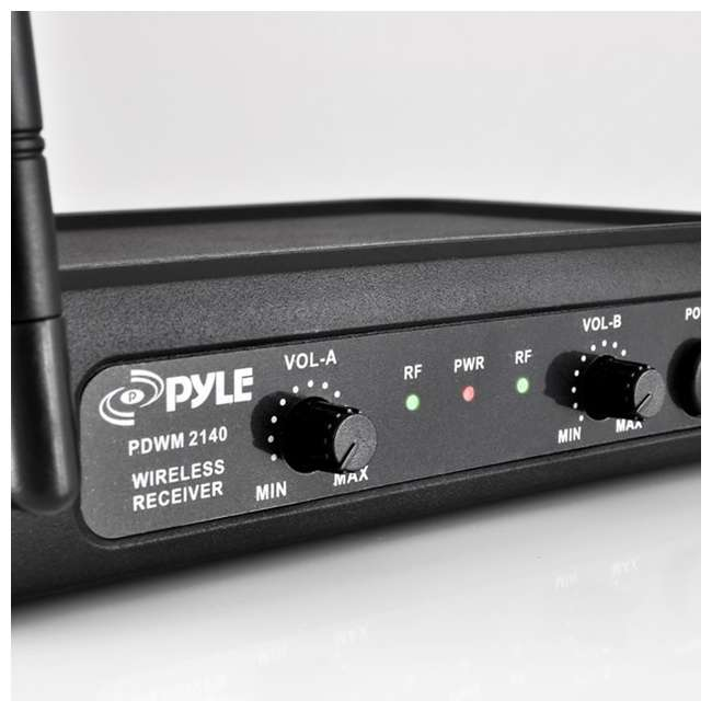 pyle pro pdwm2145 vhf wireless microphone system. Black Bedroom Furniture Sets. Home Design Ideas