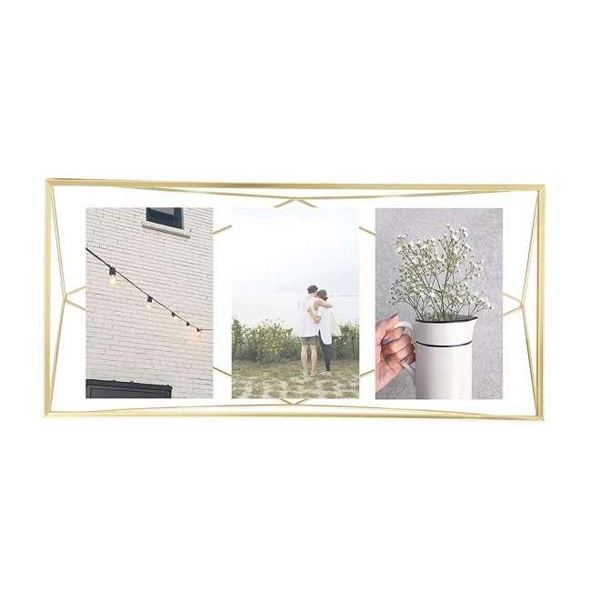313019-221 Umbra 5-x-7-Inch Prisma Picture Frame, Gold 1