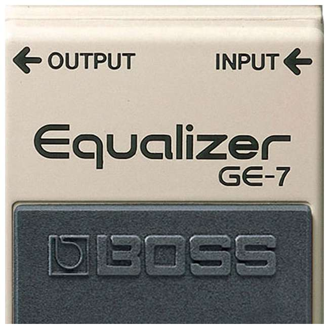 GE-7 Boss Adjustable Graphic Equalizer Guitar Pedal 3