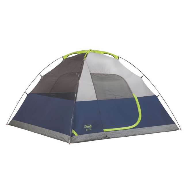 2000024583 Coleman Sundome 6 Person Tent w/ Rainfly (2 Pack) 3