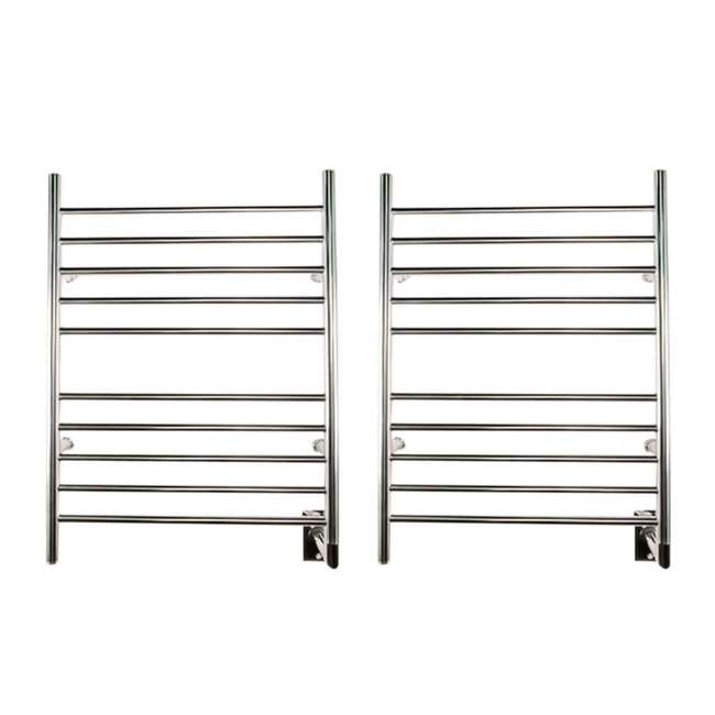 RWH-SP Amba Radiant Hardwired Straight Electric Towel Warmer (2 Pack)