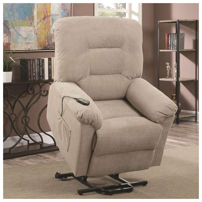 600399ii-U-A Coaster Home Furnishings Power Lift Recliner Chair With Remote Control(Open Box) 2