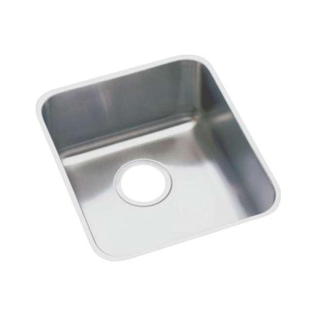ELUH1316-U-A Elkay Lustertone 18 Gauge Stainless Steel Single Bowl Undermount Sink (Open Box)