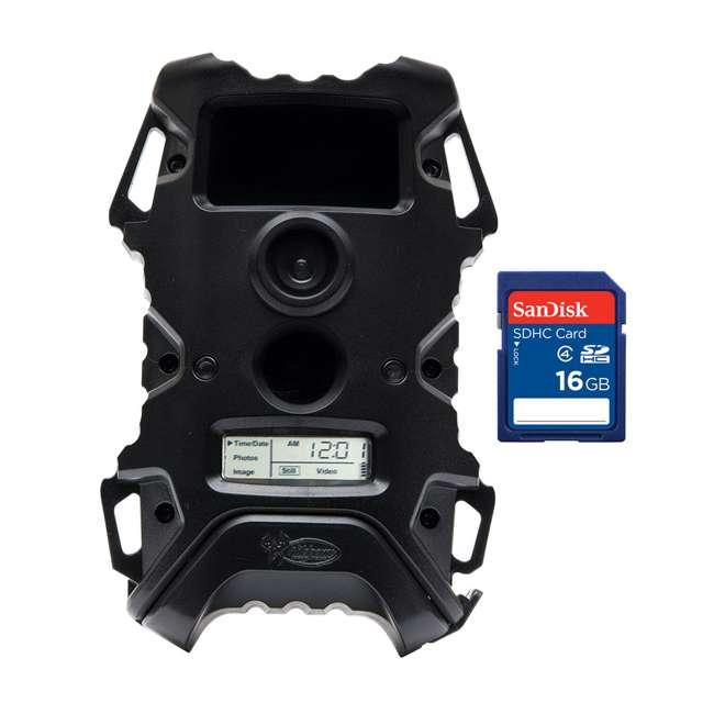 FG-WDGC-00474 + SD4-16GB-SAN Wildgame Innovations 8MP Game Camera + SanDisk 16GB SD Card