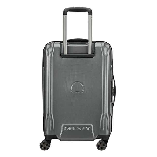 """40207980511 DELSEY Paris Cruise Lite 2.0 20"""" Hardside Expandable Carry On Travel Case, Gray 3"""