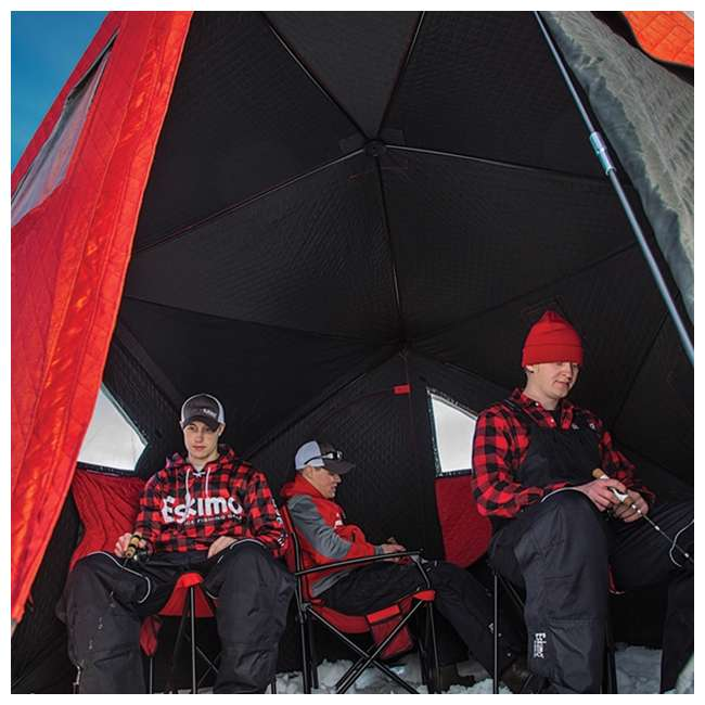 ESK-32100 Eskimo 32100 Outbreak 450i 5-Person Insulated Ice Fishing Shelter 3
