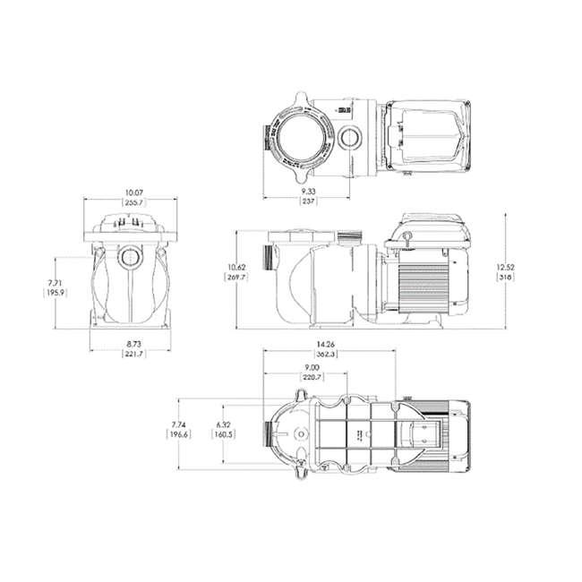 342001 Pentair Superflo Variable Speed VS Pump 4