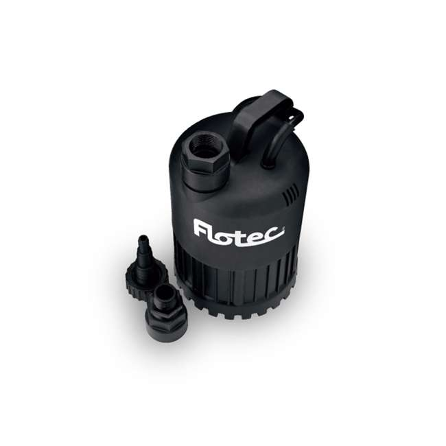 FP0S3000X Pentair Flotec FP0S3000X Thermoplastic Waterfall/Utility Pump 0.4 Horse Power
