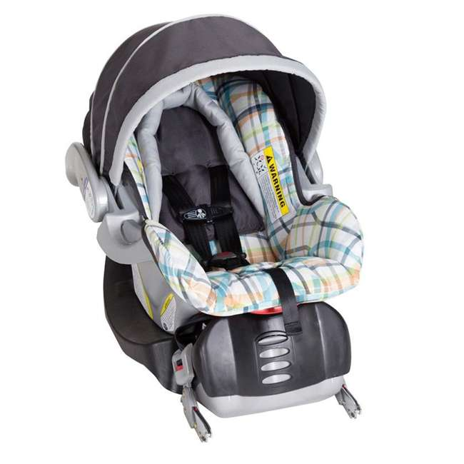 TS41A01A Baby Trend Nexton Baby Stroller & Infant Car Seat Travel System, Phunk Plaid 1