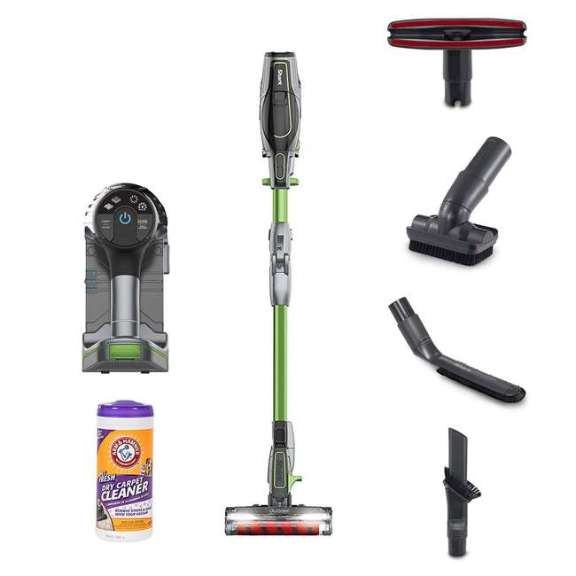 IF201_EGB-RB + 64113B Shark Cordless Vacuum (Certified Refurbished) w/ Arm & Hammer