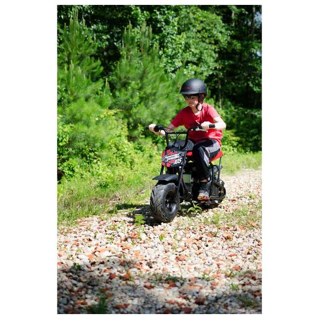 MM-B105-RBS-U-B Monster Moto 150cc Gas Off Road Mini Dirt Motor Bike w/ Suspension (Used) 2