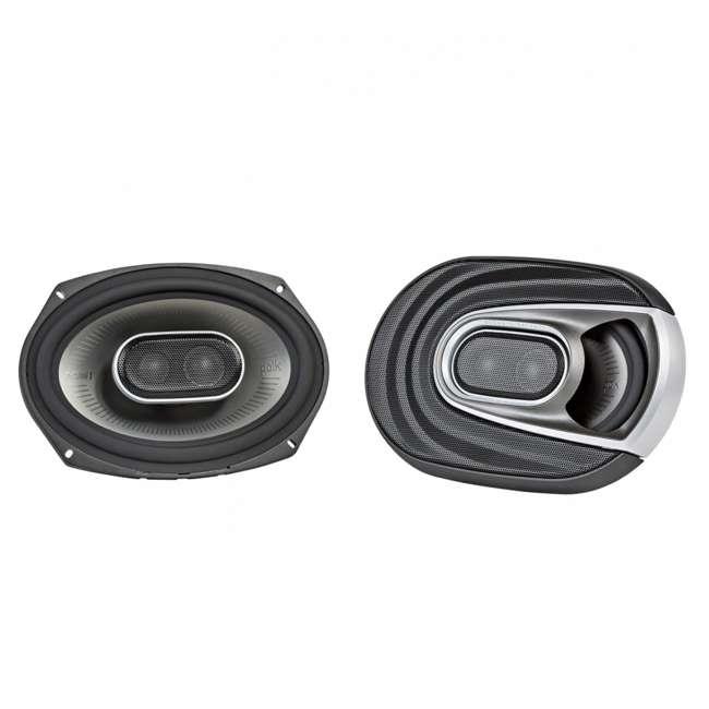 MM692 Polk Audio MM1 Series 6x9 Inch 450W Coaxial Marine Boat ATV Car Audio Speakers
