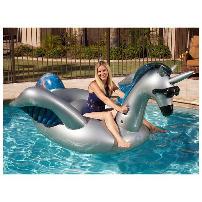 5022-OB GAME Giant Inflatable Mystique Alicorn Swimming Pool Float (Open Box) 1