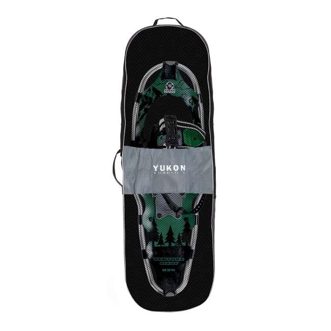 80-3002K-VM-U-b Yukon Charlie's 8x25 Inch Men's Snowshoe Kit with Aluminum Poles & Bag (Used) 2