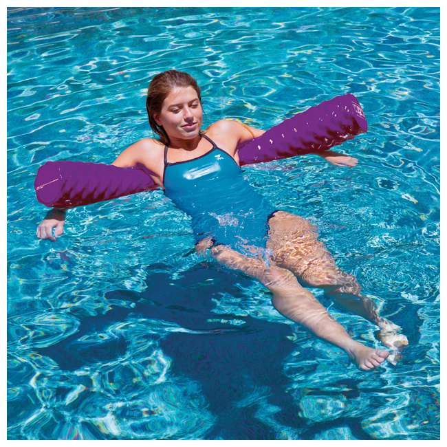 17-2070P WOW Watersports Soft Large Foam Pool Noodle, Purple 3