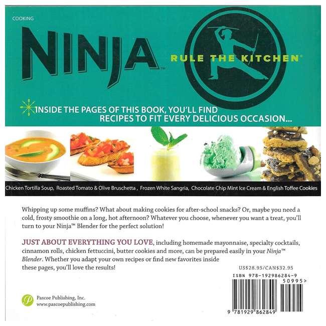 XPB600W Ninja Breakthrough Blending! 150 Recipe Blender Cookbook (2 Pack) 2