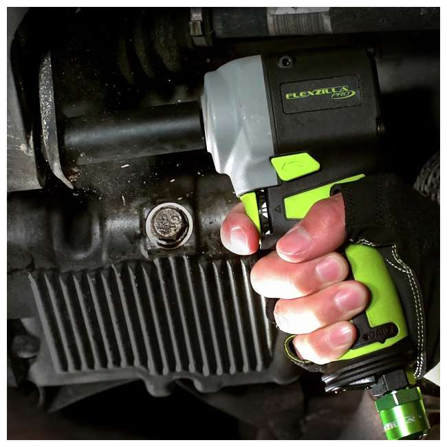 AT8505FZ Flexzilla AT8505FZ Pro Mini Impact Wrench Kit with Couplers, Plugs, and Fittings 2