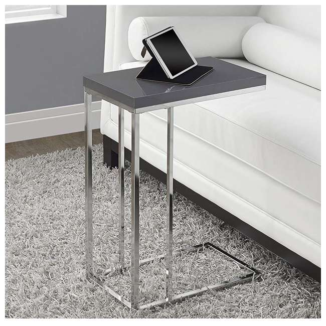 VM-3030 Monarch Specialties Contemporary Accent Side End Table 1