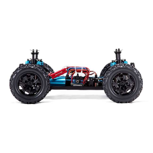 VOLCANOEPPRO-94111PRO-BS-U-C Redcat Racing Volcano EPX Pro 1:10 Scale RC Monster Truck, Blue (For Parts) 4