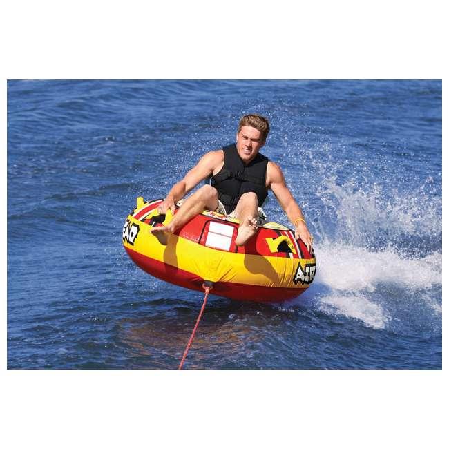 airhead blast single rider inflatable boat towable tube. Black Bedroom Furniture Sets. Home Design Ideas