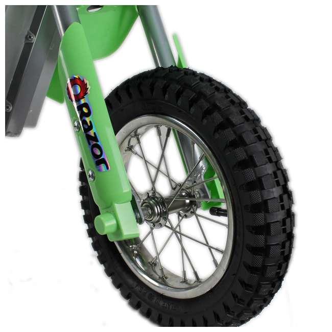 15128030-U-A RAZOR MX400 24V Dirt Rocket Electric Motorcycle Bike - 15128030 (Open Box) 2