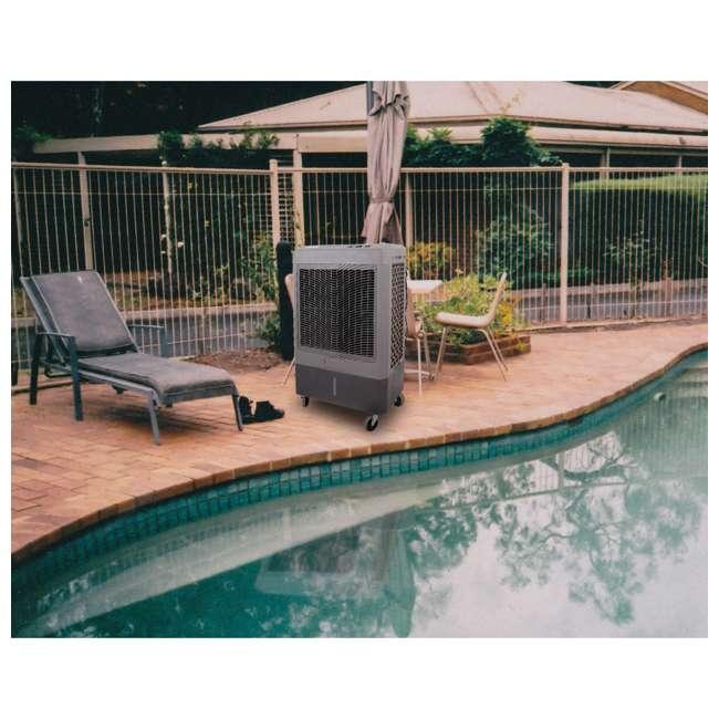 MC61M Hessaire MC61M Indoor/Outdoor Portable 1,600 Sq Ft Evaporative Swamp Air Cooler 7