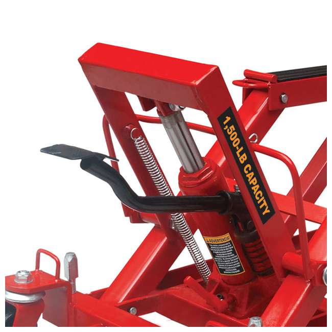 TOR-T64017-U-C Torin Big Red .75 Ton 1500lb Capacity Motorcycle ATV UTV Jack Lift (For Parts) 2