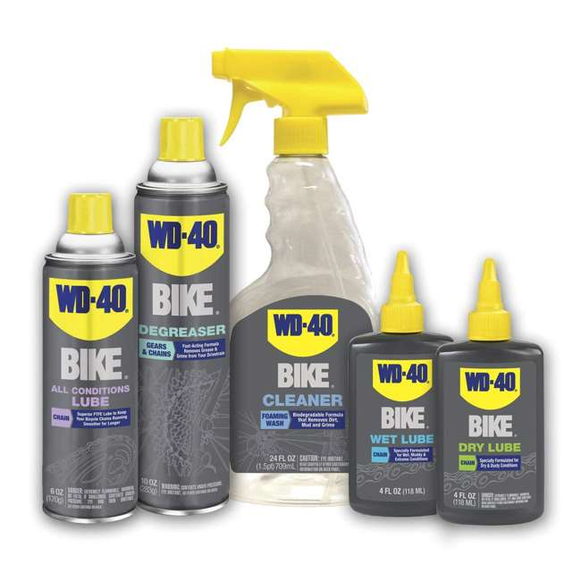 WD-390227 24-Ounce All-Purpose Biodegradable Foaming Bike Cleaner 2