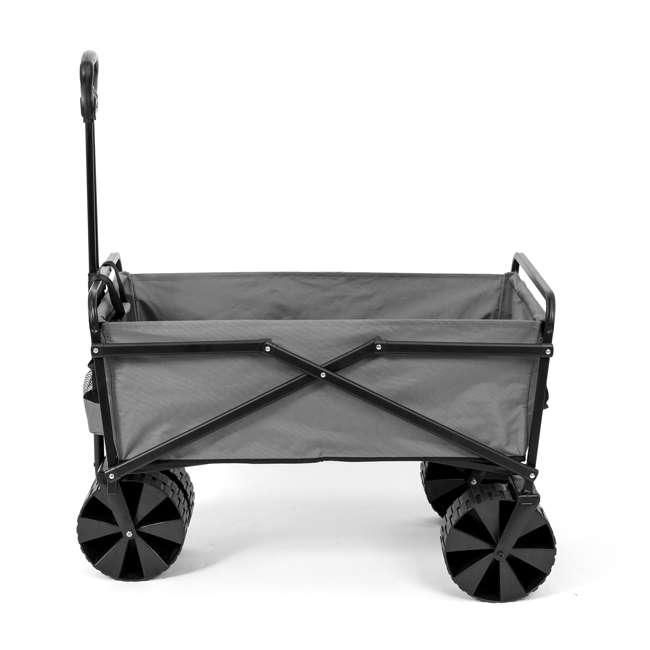 SUW-400GY Seina Collapsible Utility Beach Wagon and Cart, Gray (2 Pack) 1