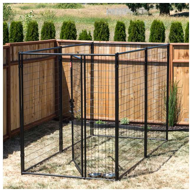 CL 66150 Lucky Dog Large Modular Welded Wire Box Indoor/Outdoor Kennel 10'x5'x6' (2 Pack) 3