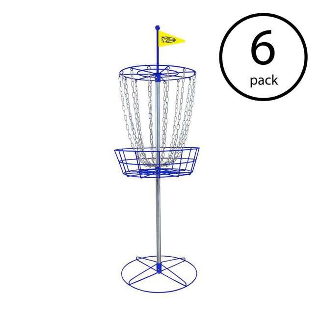 6 x 53312 Wham-O Official Frisbee Disc Golf Set (6 Pack)