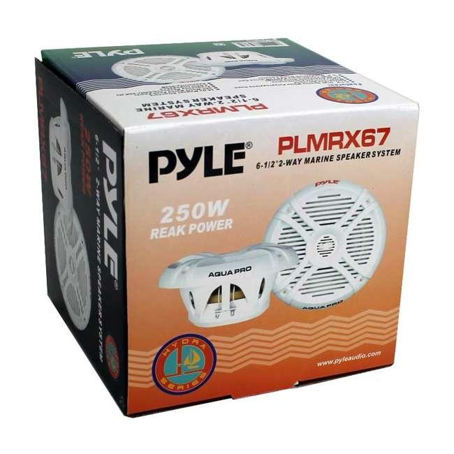 PLMRX67 Pyle PLMRX67 6.5-Inch 250W Boat Marine Speakers (Pair) 5