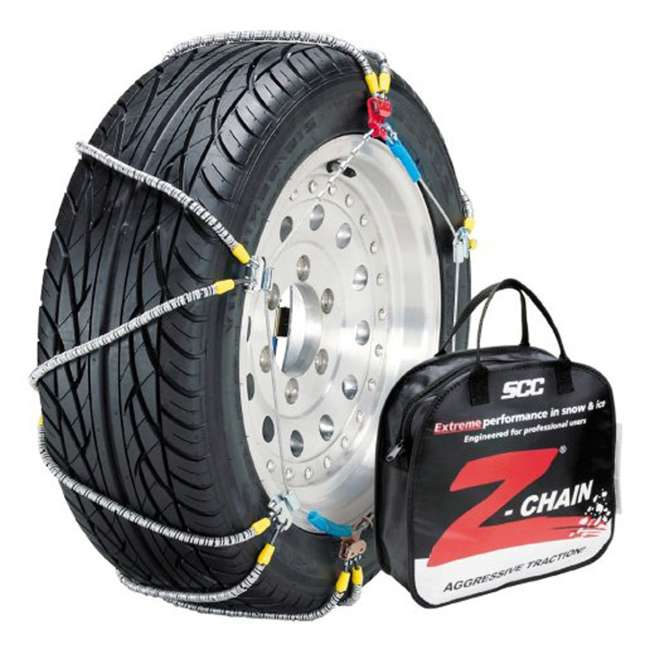 Z555 Peerless Z555 Z-Chain Snow Tire Chains, Pair (2 Pack) 1
