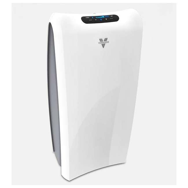 AC550 Vornado True HEPA Filter Whole Room Air Purifier, White 4