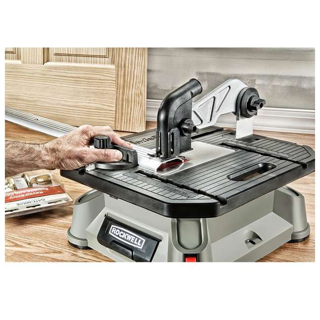 RK7323-U-A Rockwell Bladerunner Tabletop Table Saw Scroll, Rip, and Miter Tool (Open Box) 5