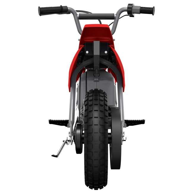 15128095 Razor MX350 Dirt Rocket Kids Electric Motorcycle, Red 3
