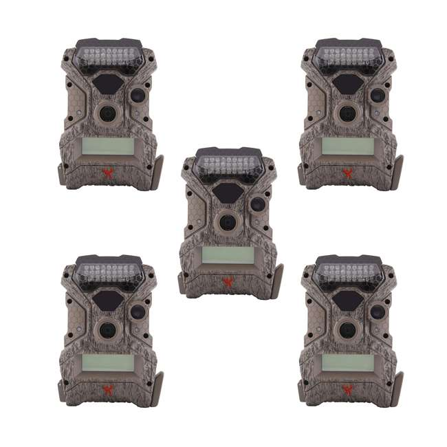 5 x WGICM0558 Wildgame Innovations Mirage No Glow 18 MP Hunting Trail Game Camera (5 Pack)