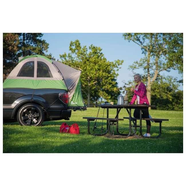 13100 + PPI PV202C Napier BackRoadz 13100 SUV and Minivan Tent w/ GreenAirBedz Inflatable Pickup Truck Air Mattress 2