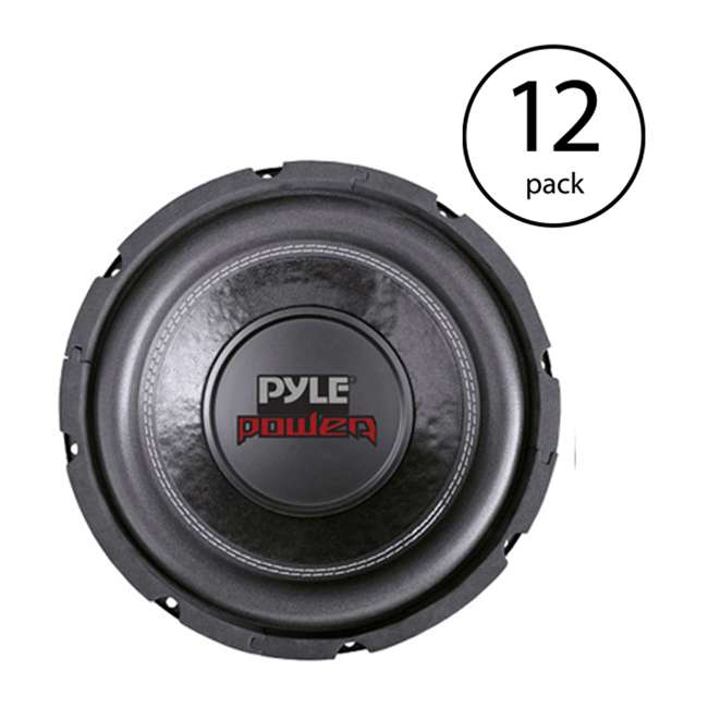 12 x PLPW6D Pyle PLPW6D 6-Inch 600 Watt Car Audio Subwoofer (12 Pack)