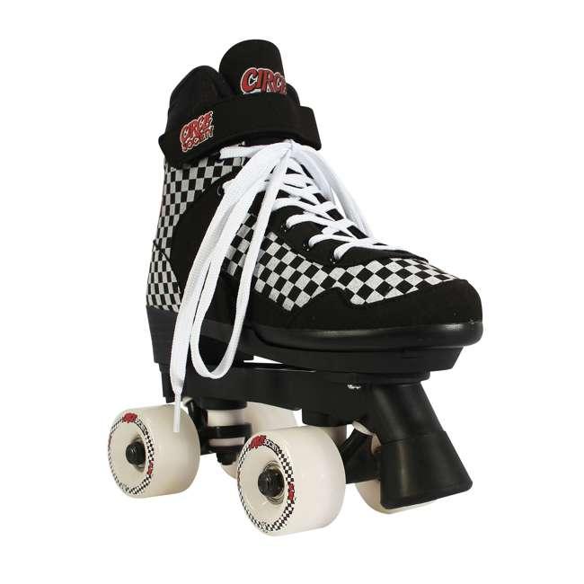 168221 Circle Society Street Checkered Kids Skates, Sizes 3 to 7 1