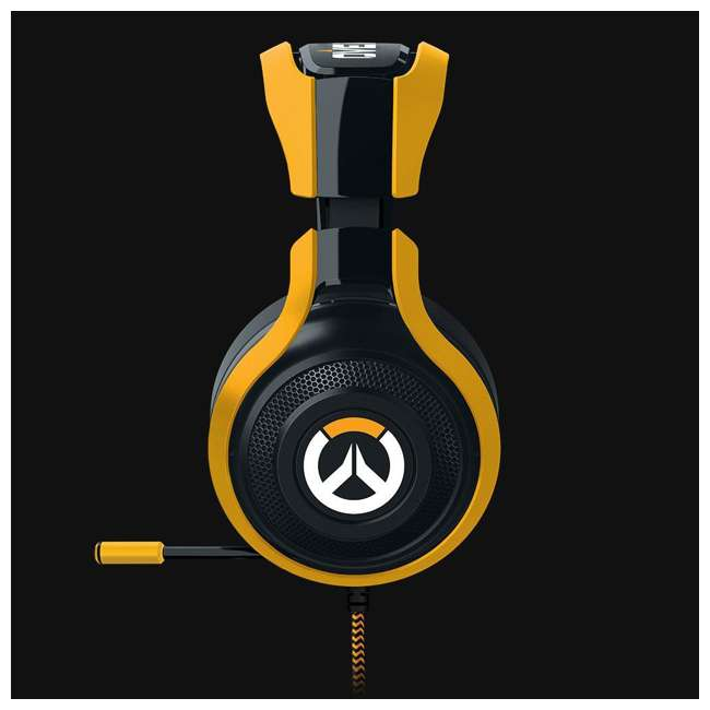 RZ04-01920100-R3M1 Razer ManO'War Overwatch Tournament Edition Over Ear Headset with Mic (2 Pack) 2