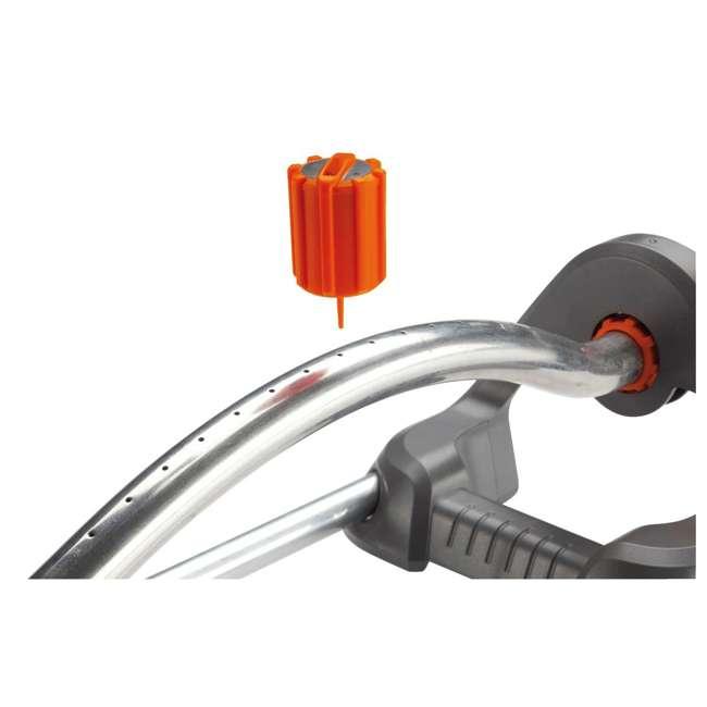 GARD-1980-U Gardena 1980 Polo Oscillating Sprinkler w/ Adjustable Spray Range 1