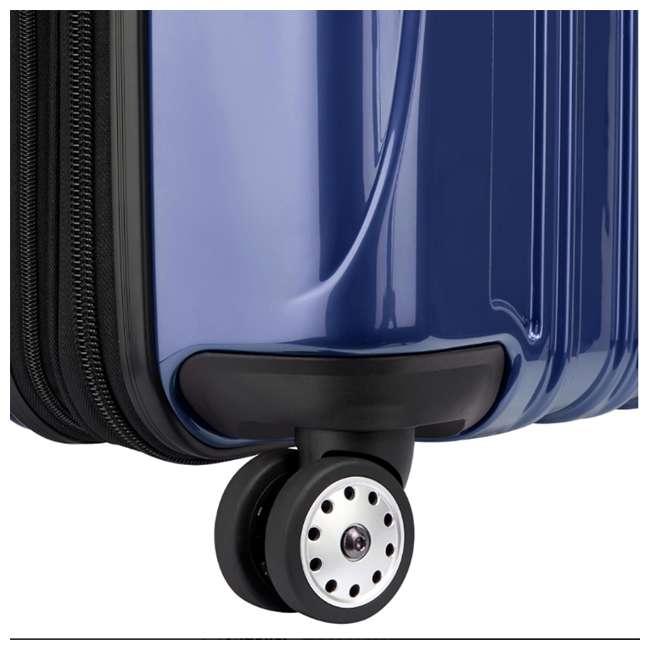 "07647BD DELSEY Paris Aero 25"" Lightweight Hardside Expandable Rolling Travel Bag, Blue 8"