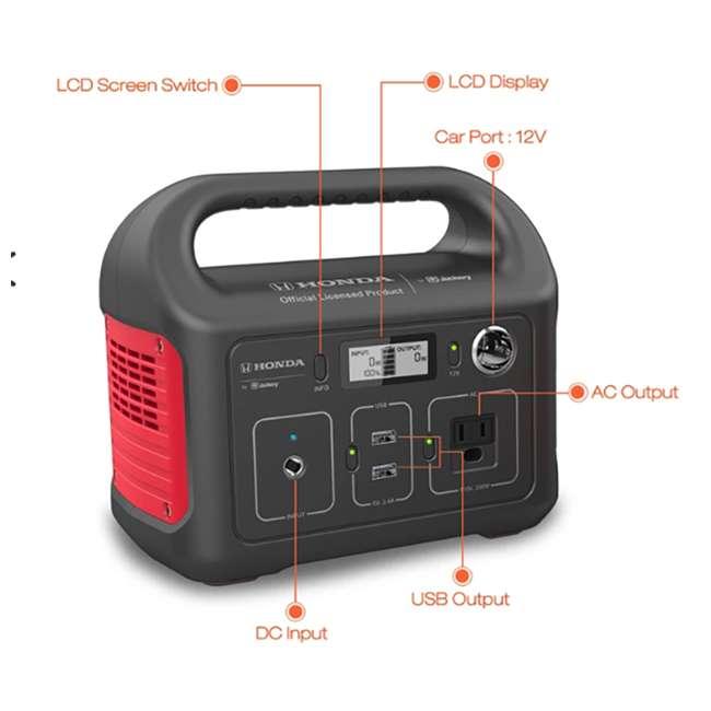 G00290RDH Jackery Honda HLS 290 Lightweight Lithium Ion Portable Power Station Generator
