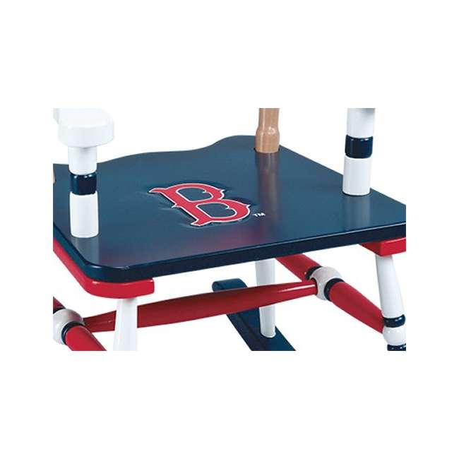 G11108 Guidecraft Red Sox Rocking Chair 1