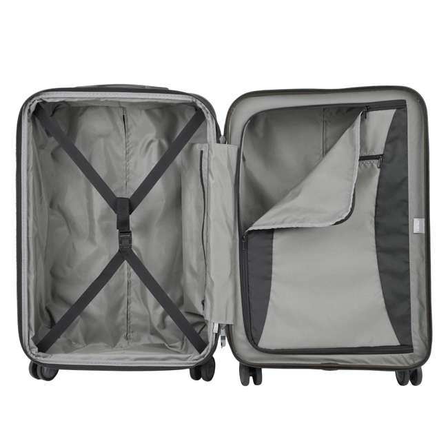 """00207182000 DELSEY Paris Titanium 25"""" Expandable Checked Spinner Rolling Luggage Suitcase 1"""
