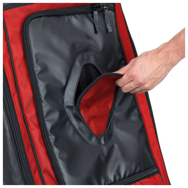 BN-COMMANDER BAG S Bownet The Commander Baseball Softball Catcher's Bag, Red 1