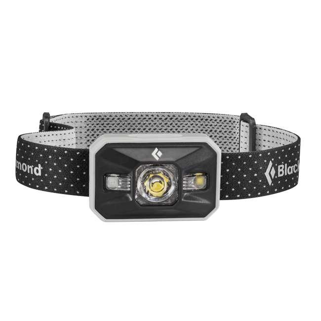 BD620633 Black Diamond Waterproof Outdoor Battery-Powered LED Storm Headlamp, Aluminum