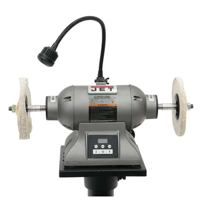JET-578218 Jet 578218 8 Inch Variable High Speed Electric Industrial Metal Polisher Buffer