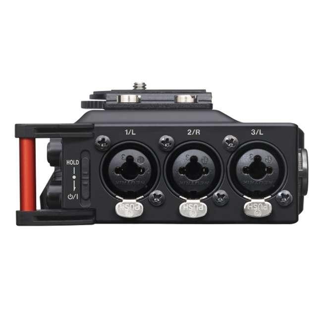 DR-70D + TH02-B Tascam 4-track PCM Recorder for DSLR Video Production + Home & Studio Headphones 5